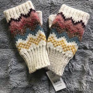 NWT Loft Knit Fingerless Mittens
